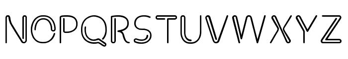 Clip Font UPPERCASE
