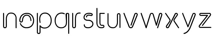 Clip Font LOWERCASE