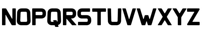Clipangle Bold Font UPPERCASE
