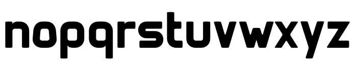 Clipangle Bold Font LOWERCASE