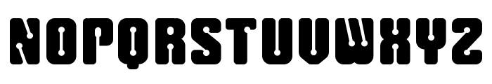 Cliperbold Font UPPERCASE