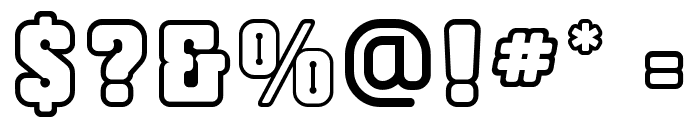 Cliperopen Font OTHER CHARS