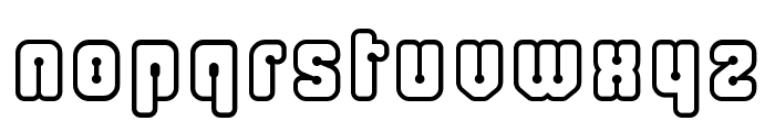 Cliperopen Font LOWERCASE