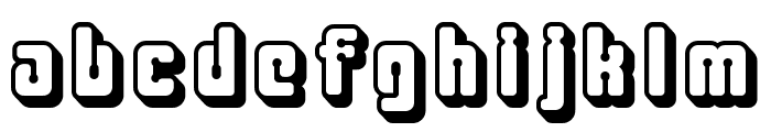 Clipershadow Font LOWERCASE