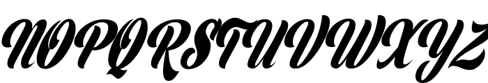 Clipper Personal Use  Font UPPERCASE