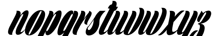 Clipper Personal Use  Font LOWERCASE