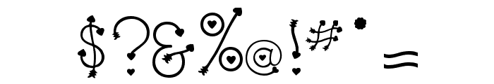 Clipz Cupid Font OTHER CHARS