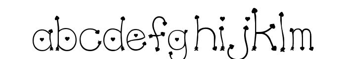 Clipz Cupid Font LOWERCASE