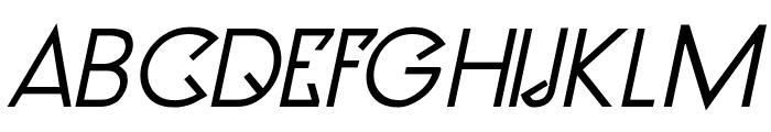 Clocker Bold Italic Font UPPERCASE