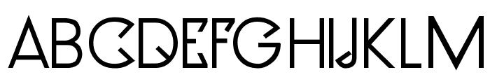 Clocker Bold Font UPPERCASE