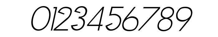 Clocker Italic Font OTHER CHARS