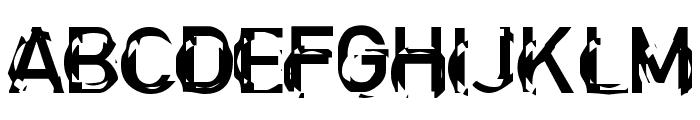 Clockwork Regular Font UPPERCASE
