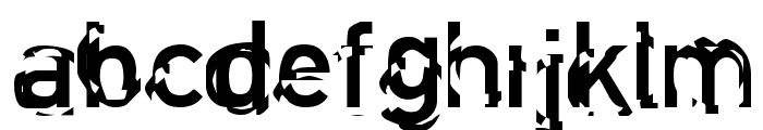 Clockwork Regular Font LOWERCASE