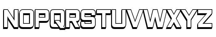 Closeness Outline Regular Font LOWERCASE
