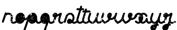 Clothing brands Font LOWERCASE