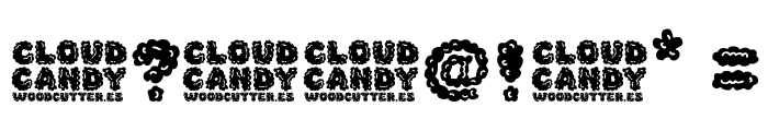 Cloud Candy Font OTHER CHARS