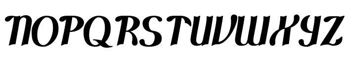 Cloud Control Font UPPERCASE