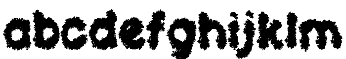Clouds of Despair LSF Font LOWERCASE