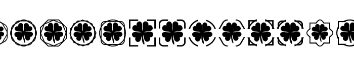 Clover Things Font LOWERCASE