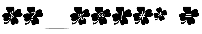 Clover Font OTHER CHARS