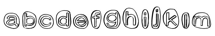 ClownShoes Font LOWERCASE