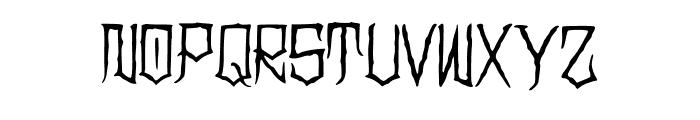 Clownoween Font UPPERCASE