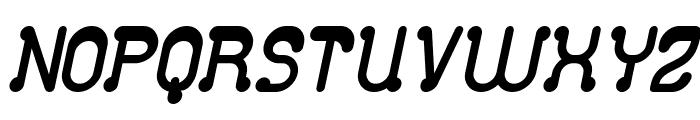 Club Golf Bold Italic Font UPPERCASE
