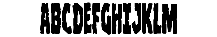 Clubber Lang Condensed Font UPPERCASE