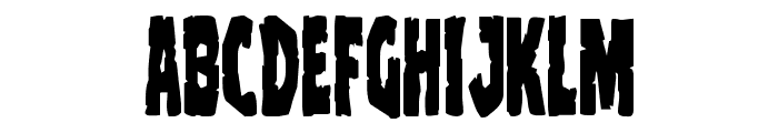 Clubber Lang Condensed Font LOWERCASE