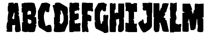 Clubber Lang Expanded Font UPPERCASE