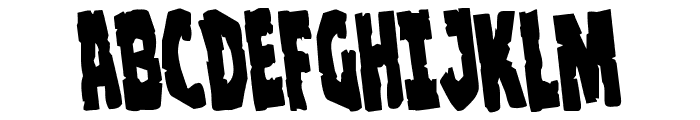 Clubber Lang Rotate Regular Font UPPERCASE