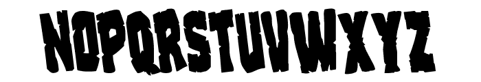 Clubber Lang Rotate Regular Font LOWERCASE
