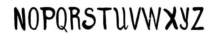 Clumsy Matilda Demo Font UPPERCASE