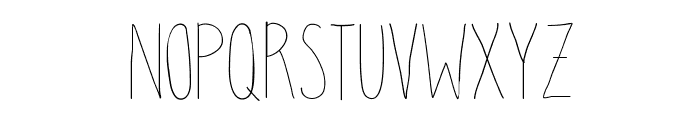 clean up your mess Font LOWERCASE
