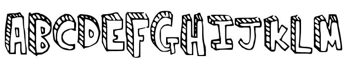 climbtheladder Font UPPERCASE