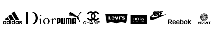 clothing logos tfb Font OTHER CHARS
