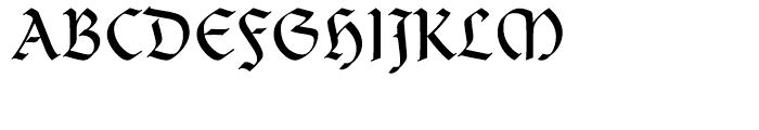 Clairvaux Roman Font UPPERCASE