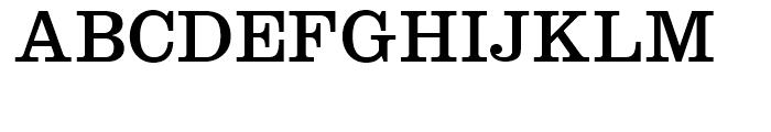 ClarendoNeo Regular Font UPPERCASE