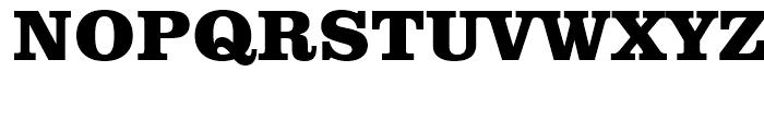 Clarendon Extra Bold Font UPPERCASE