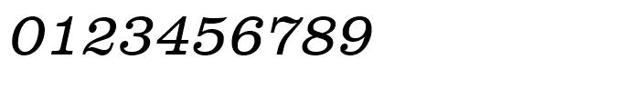 Clarendon Light Narrow Oblique Font OTHER CHARS