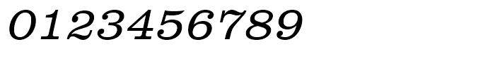 Clarendon Light Oblique Font OTHER CHARS