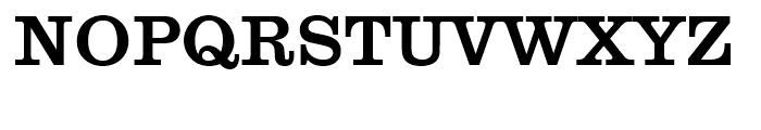 Clarendon No 1 Medium Font UPPERCASE