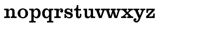 Clarendon No 1 Medium Font LOWERCASE