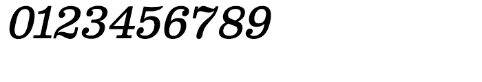 Clarendon Text Italic Font OTHER CHARS