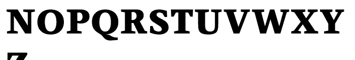 Claridge Black Font UPPERCASE