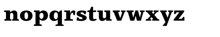 Claridge Black Font LOWERCASE
