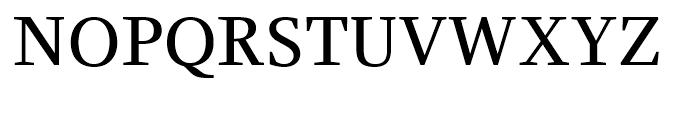 Claridge Regular Font UPPERCASE