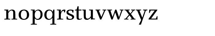 Claridge Regular Font LOWERCASE