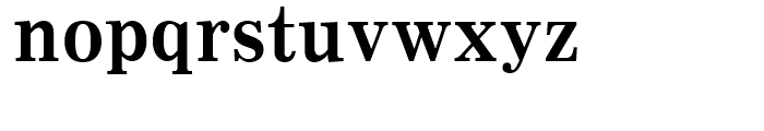 Clarion Bold Font LOWERCASE