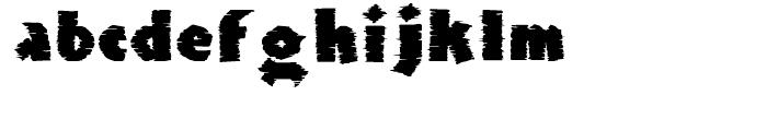 Clarvoyant Regular Font LOWERCASE